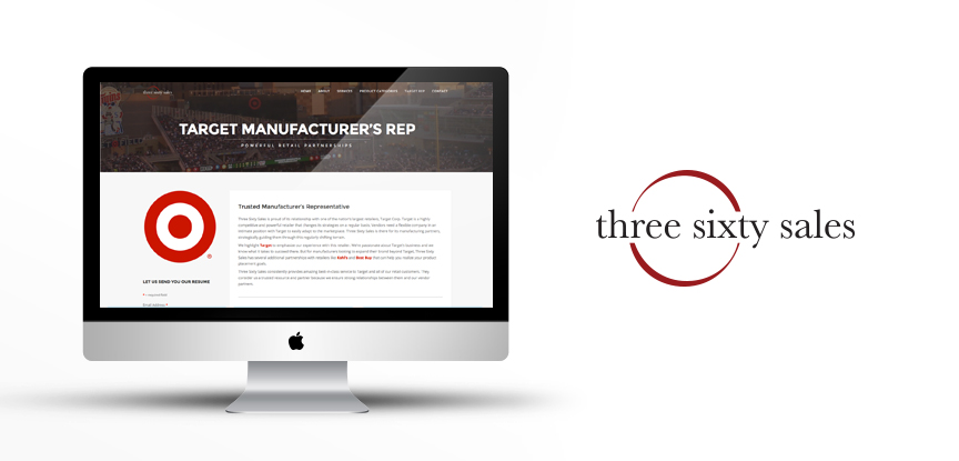 Three Sixty Sales Website Redesign